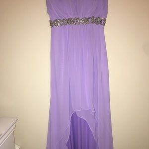 Lavender High-Low Prom/Bridesmaid/Formal Dress